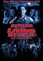 La locandina del film Return of the Living Dead 5: Rave to the Grave