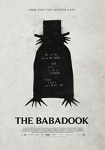 La locandina del film The Babadook