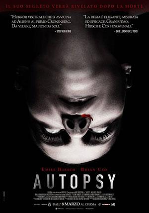 La locandina del film Autopsy