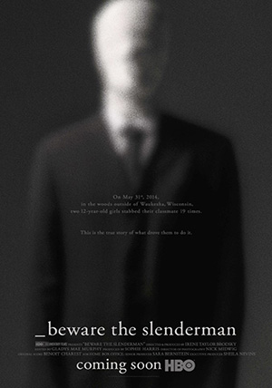 La locandina del film Beware the Slenderman