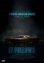 La locandina del film horror 2016 It Follows