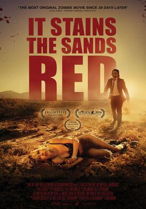 La locandina del film It Stains the Sands Red