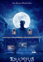 La locandina del film horror 2016 (Home Video) Krampus: Natale non è sempre Natale