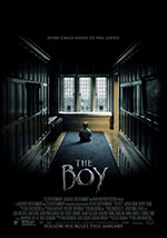 La locandina del film The Boy