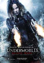 La locandina del film Underworld: Blood Wars
