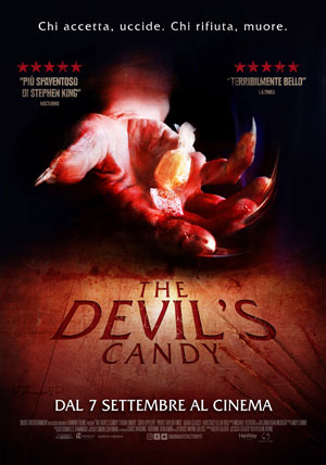La locandina del film The Devil's Candy
