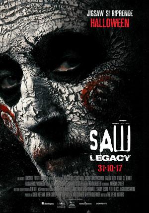 La locandina del film Saw Legacy