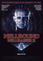 La locandina del film Hellraiser 2: Prigionieri dell'Inferno