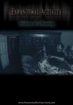 La locandina del film Paranormal Activity
