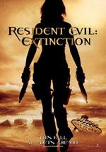 La locandina del film Resident Evil: Extinction