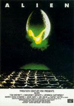 La locandina del film Alien