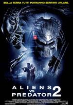 La locandina del film Aliens vs Predator 2