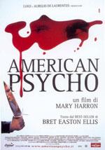 La locandina del film American Psycho