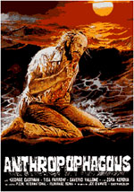 La locandina del film Antropophagus