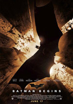 La locandina del film Batman Begins