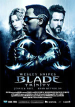 La locandina del film Blade: Trinity