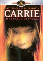 La locandina del film Carrie, lo sguardo di Satana
