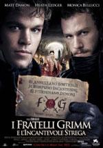 La locandina del film I Fratelli Grimm e l'incantevole Strega