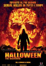 La locandina del film Halloween The Beginning