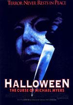 La locandina del film Halloween 6: La Maledizione di Michael Myers
