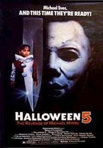 La locandina del film Halloween 5: la Rivincita di Michael Myers