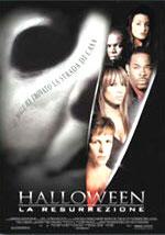 La locandina del film Halloween: La resurrezione