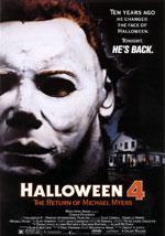 La locandina del film Halloween 4 - Il Ritorno di Michael Myers