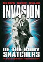 La locandina del film L'invasione degli ultracorpi