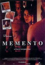 La locandina del film Memento