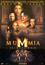 La locandina del film La Mummia – Il Ritorno