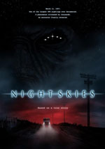 La locandina del film Night Skies