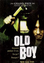 La locandina del film Old Boy