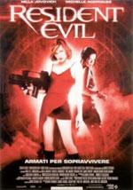 La locandina del film Resident Evil