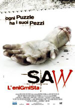 La locandina del film Saw - L'Enigmista