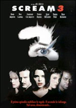 La locandina del film Scream 3