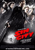 La locandina del film Sin City