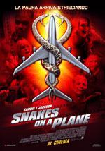 La locandina del film Snakes on a Plane