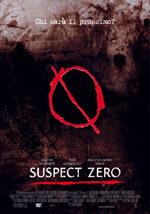 La locandina del film Suspect zero