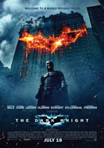 La locandina del film Batman 2: Il Cavaliere Oscuro