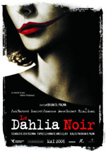 La locandina del film The Black Dahlia