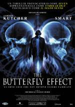 La locandina del film The Butterfly Effect