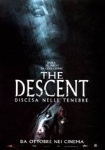 La locandina del film The Descent - Discesa nelle tenebre