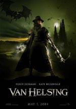 La locandina del film Van Helsing