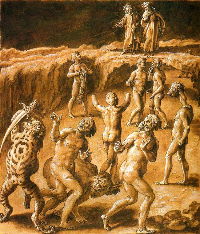 Divina Commedia: Inferno Canto XXVIII