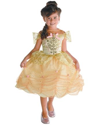 belle costume bambina  Halloween: costume per bambina da Belle