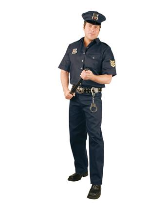 3a3b4cf60d Halloween: costume per uomo da Poliziotto