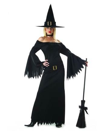 Halloween  costume per donna da Strega Elegante 02134ce3d6d7