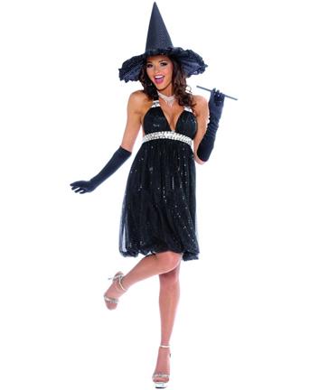 Vestiti Halloween Strega.Halloween Costume Per Donna Da Strega Glamour