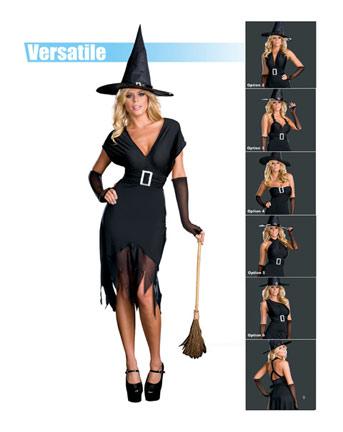 Vestiti Halloween Strega.Halloween Costume Per Donna Da Strega Hocus Pocus