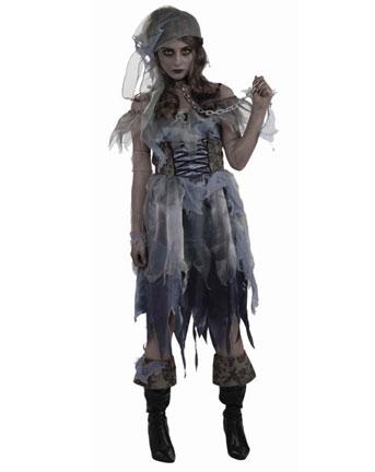 Halloween  costume per donna da Pirata Zombie d41313bf8bfd
